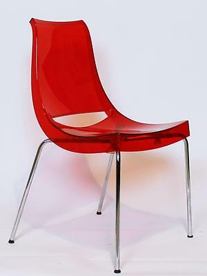 Vintage Italian 'chiacciera 'chairs By Marco Maran For Parri