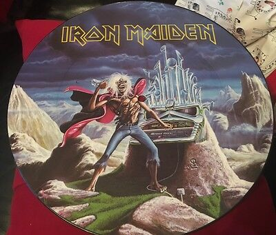 Iron Maiden Run To The Hills Picture Disc