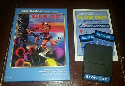 Intellivision BLOW OUT game 2016