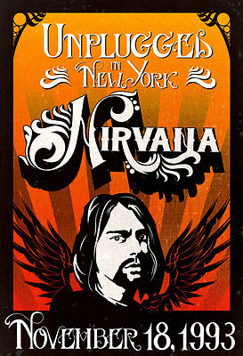 Nirvana Style b  Poster 13x19 inches