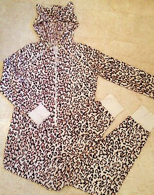 NEXT Leopard Onesie In Outstanding Condition Size Uk L