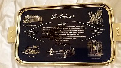 St. Andrews Golf Club Tray