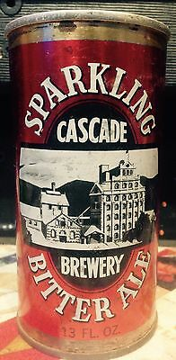 Cascade Sparkling Bitter Ale 13FL.OZ S/S Steel Collector Beer Can