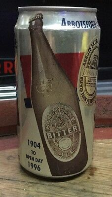Abbotsford Brewery Open Day 1996.375ml Money Box Beer Can.