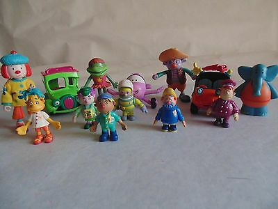 Engie Bengy Toy Playset Bundle Vehicles &  Lots of Figures