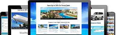 Amazing Fully Automated Travel Compare Website   12 Months Hosting Included
