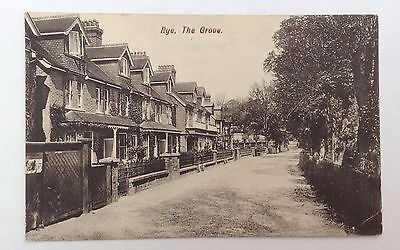 Rye The Grove Sussex Postcard