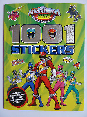 Power Rangers Dino Charge 1001 Stickers, Children's Activity Book, New age 4-8yr