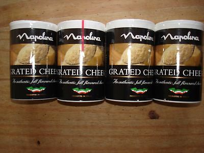Napolina Grated Cheese X 4