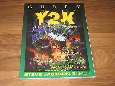GURPS 3rd Edition Y2K The Countdown To Armageddon 1999 Steve Jackson Games