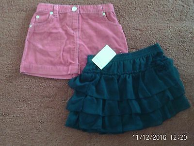 Girls skirts age 5 one new with tags one john lewis good condition