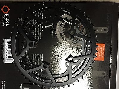 Rotor NoQ 53/39 Chainrings 110BCD