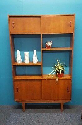 Mid Century Style Danish Inspired Teak Room Divider Delivery Available