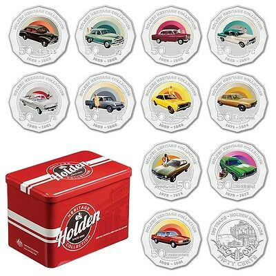 2016 Holden Heritage Uncirculated 12 Coin Collection – Incl. Scarce Heritage 50c