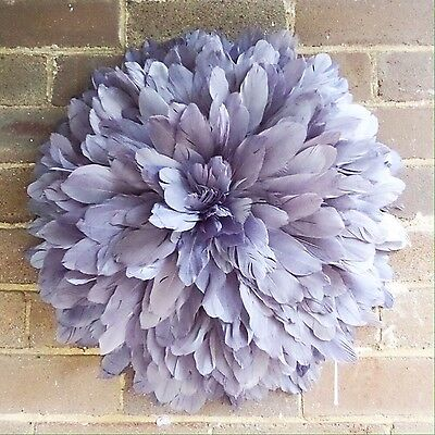 50cm Diameter Feather Juju Hat Style 3D Wall Hanging Decoration Tribute Boho