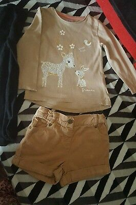 Baby girls 3 piece christmas/ winter short outfit!!