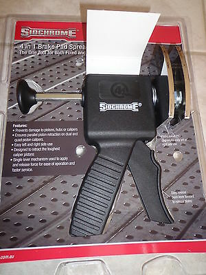 SIDCHROME 4 in 1 DISC BRAKE PAD SPREADER, INSTALLING TOOL , CALIPER,SCMT 70916