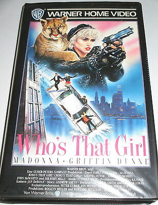 Warner - Who's that Girl - VHS/Action/Madonna/Griffin Dunne