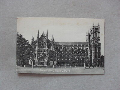 Old Postcard - London - Westminster Abbey