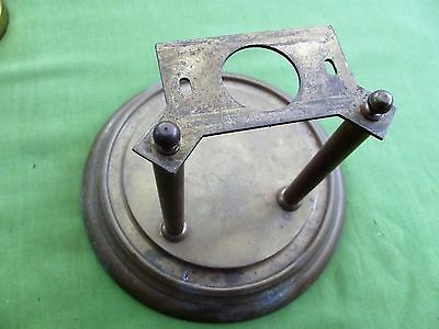 A 400 Day Torsion Clock  Base And Pillars ( Spares )