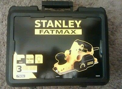 Stanley Fatmax electric plane planer New in case