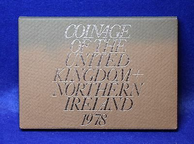 1978 Royal Mint Proof Coin Set