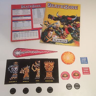 Blood Bowl Death Zone Supplement 1994 - Rules, Templates & Tokens