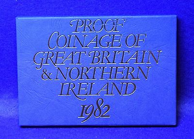 1982 Royal Mint Proof Coin Set