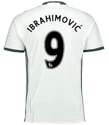 Manchester United 9 Ibrahimovic Third Soccer Jersey Sz:L