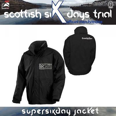 Scottish Six Days Trial Official SUPERSIXDAYS Jacket - Size Large Only