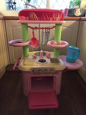 ELC Early Learning Centre Smoby Play Kitchen Pink