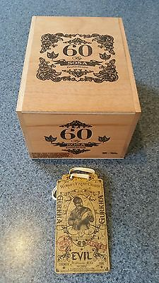 CIGAR BOX - Timber - with swing tag - Excellent Condition