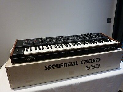 Sequential Circuits Prophet 600 synthesiser with GliGli upgrade superb condition