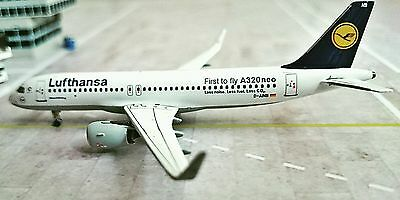 Lufthansa A320NEO D-AINB 1/400. BRAND NEW. MINT AND FIRST NEO