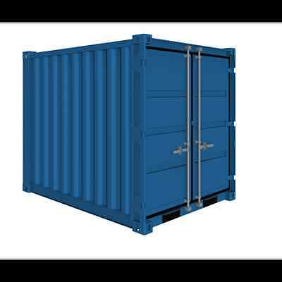 6ft x ft x 6ft  approx. Steel LC Storage container  ! MK CONTAINERS