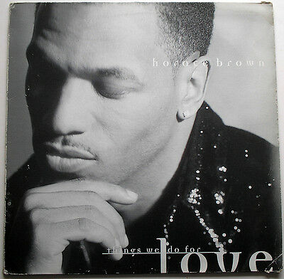 HORACE BROWN: THINGS WE DO FOR LOVE. MOTOWN 860 571 33rpm Stereo EP 1996