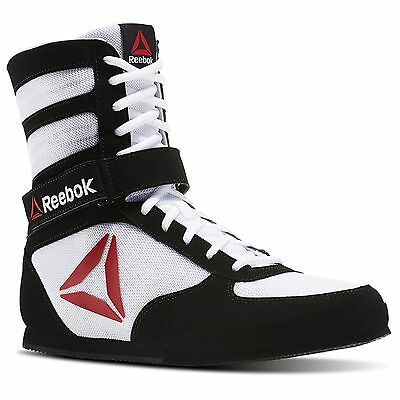 Men's Mayweather Reebok Boxing Boots Legitimate Rare Size 6-13 LIMITED STOCK
