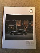 VOLVO - V40 Cross Country  Sales  Specification Brochure 2016  new  bargain