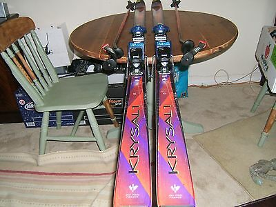 Pair of SKIS & Poles FOR SALE