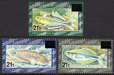 Papua New Guinea 1995 Fish surcharges