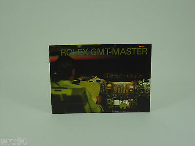 Genuine Rolex booklet vintage GMT-Master instruction 2002