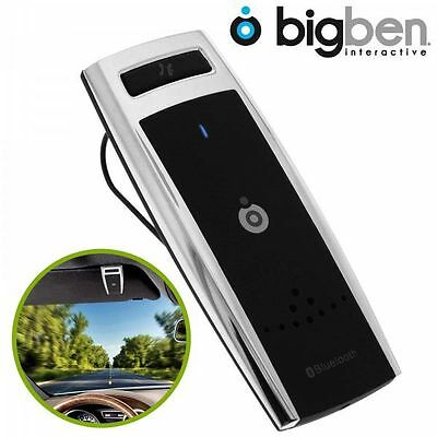 Kit Mains libres bluetooth Bigben connected, hands free bluetooth car kit