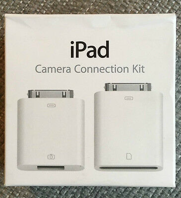 Genuine Apple 30 pin Ipad Camera Connection Kit MC531ZM A1362 A1358 New sealed