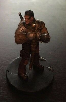 Dungeons And Dragons - Human Sellsword Miniature (Starter Set #3/5) x1