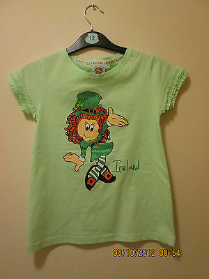 Girls Traditional Craftwear Top Size 9-10 Years