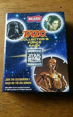 Tazo collectors force pack Star Wars special edition