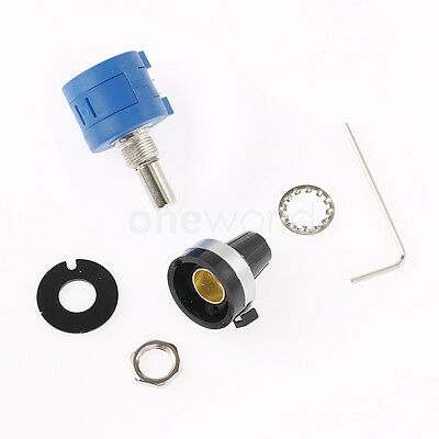 Counting Dial Rotary Potentiometer Pot Multi-turn Variable Resistor 10K Ohm