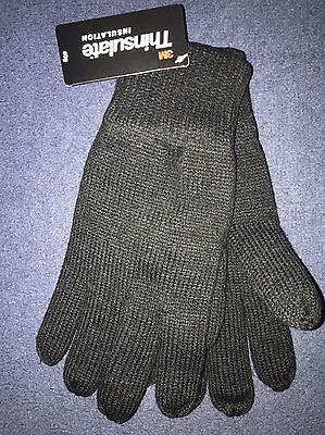 Men's Lined Woolly Gloves