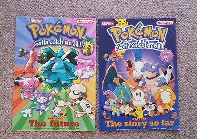 Pokemon Magazines x 2 - Collectable - ideal Christmas gift