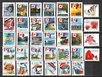 Canada 2004-2009 Definitives 34 Used Lt-40.1